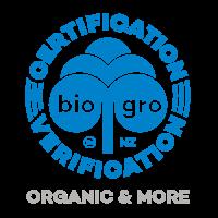 KAM Logistics - Bio Gro - NZ - Organic and More - Certification Verification